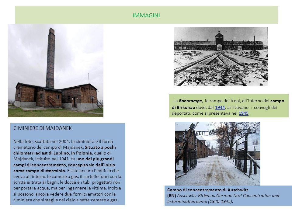 IMMAGINI CIMINIERE DI MAJDANEK Nella foto, scattata nel 2004, la ciminiera e il forno crematorio del campo di Majdanek.