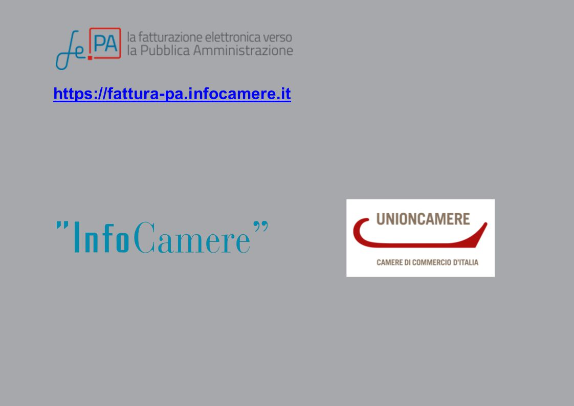https://fattura-pa.infocamere.it