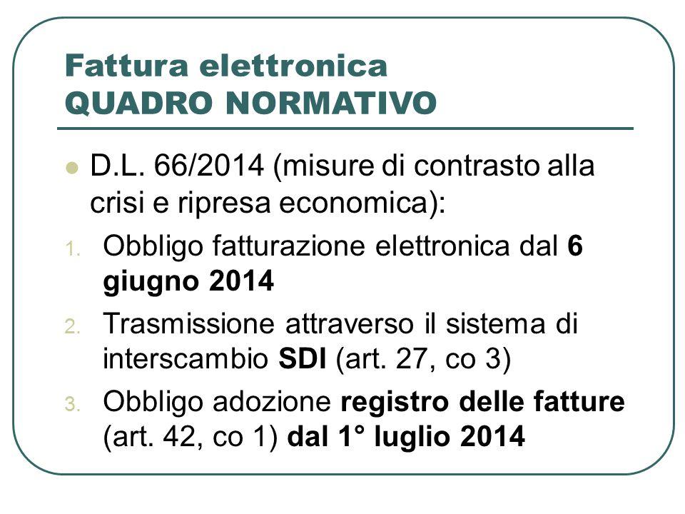 Norme modificate DPR 633/72 – Decreto IVA  Modificato l'art.