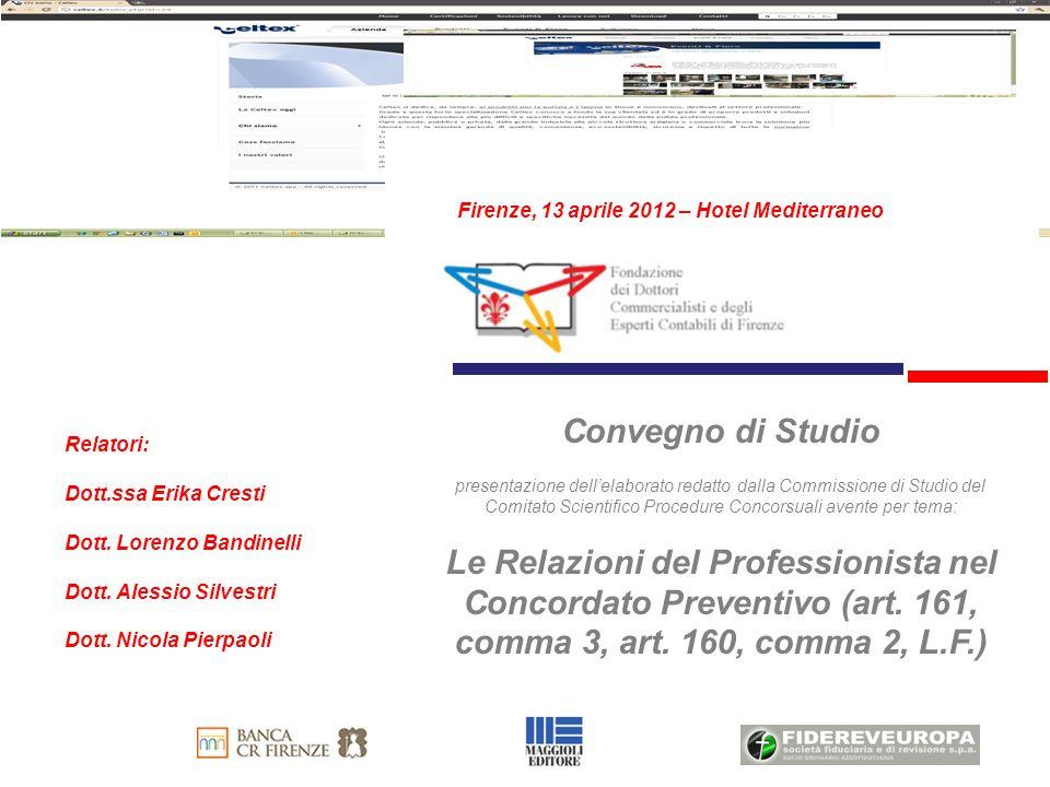 Guida Operativa per la redazione delle relazioni ex art.