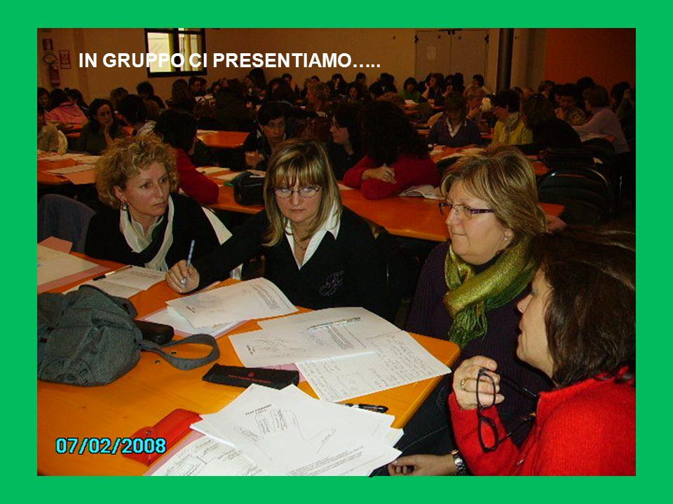daniela sartore- ostiglia 2008 IN GRUPPO CI PRESENTIAMO…..