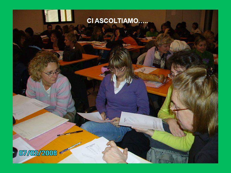 daniela sartore- ostiglia 2008 CI CONFRONTIAMO…..