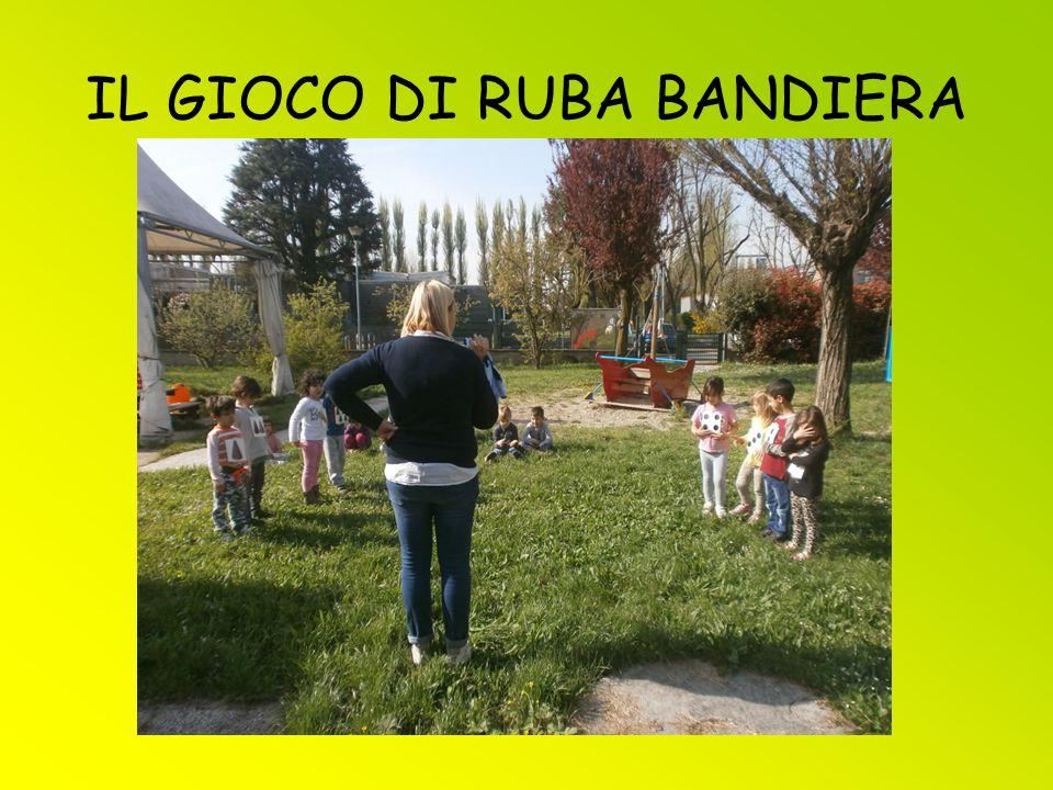 IL GIOCO DI RUBA BANDIERA