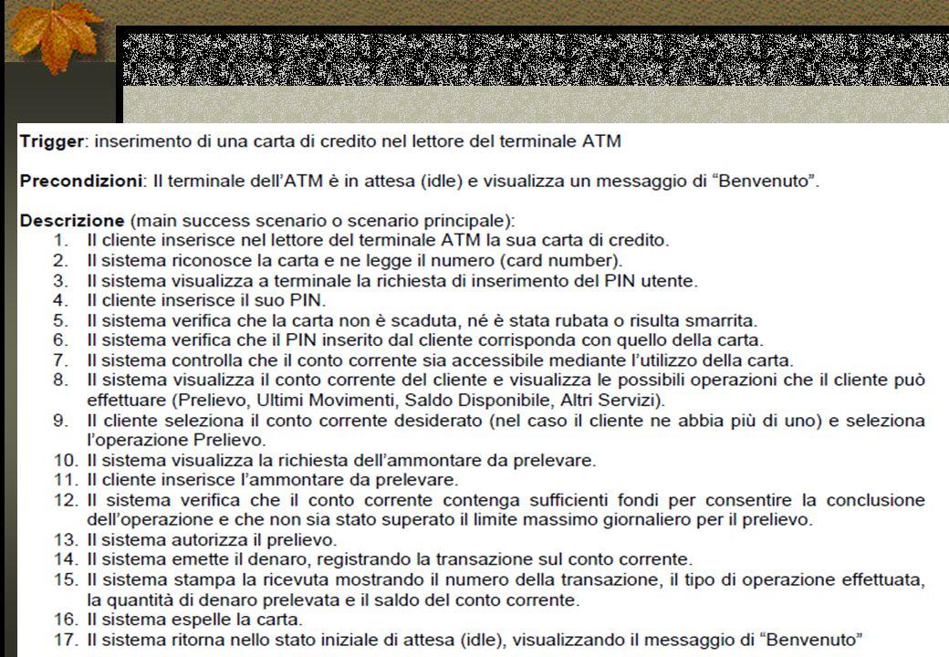 object-modeling @2003-2005 Dr. Andrea Baruzzo - Strutturare i diagrammi dei casi d uso in UML 20