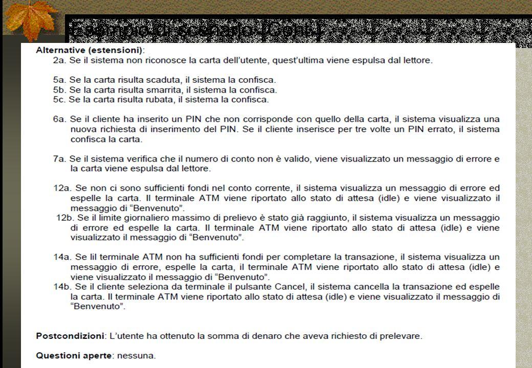 object-modeling @2003-2005 Dr. Andrea Baruzzo - Strutturare i diagrammi dei casi d'uso in UML 21 Esempio di scenario (Cont.)