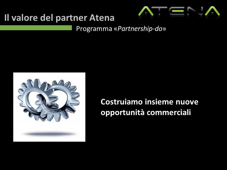 Il valore del partner Atena Programma «Partnership-do» Costruiamo insieme nuove opportunità commerciali
