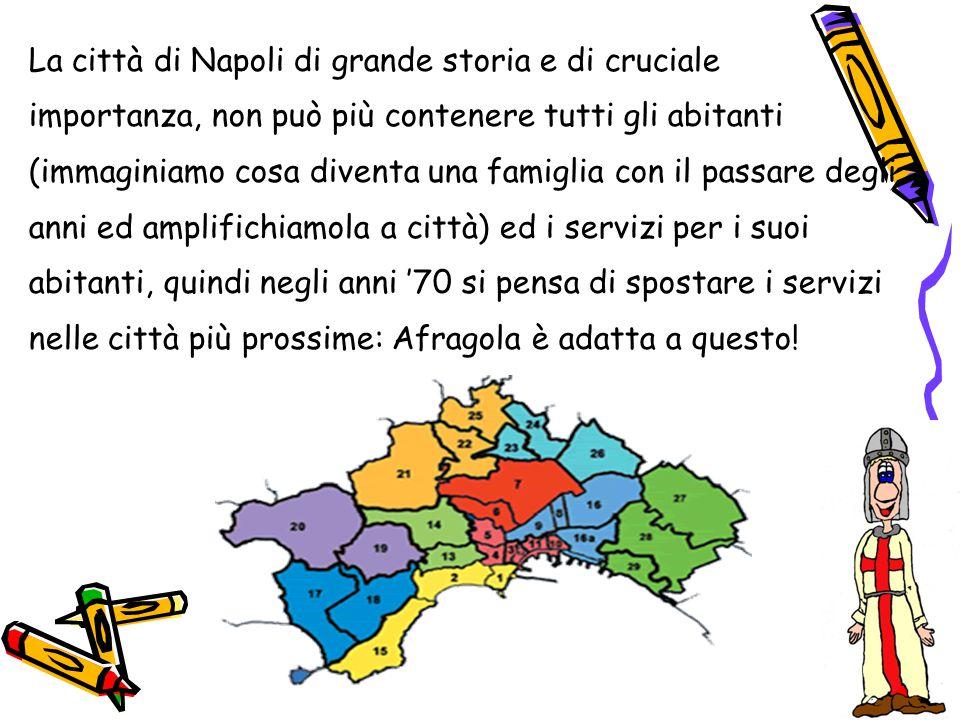 Così negli anni '70 si studiava il territorio, per la precisione il decentramento della grande città di Napoli.