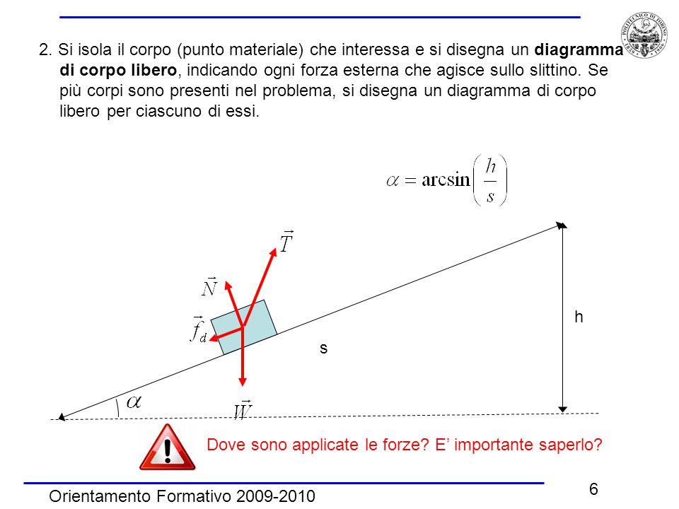 Orientamento Formativo 2009-2010 6 2.