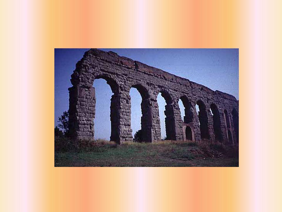 Percorso dell'acquedotto Lungo 16 chilometri (le sorgenti si trovavano sulla via Collatina), raggiungeva, con un percorso quasi tutto sotterraneo, Porta Maggiore, e si dirigeva poi verso l Aventino per terminare al foro Boario, a porta Trigemina (attuale Monte Savello).