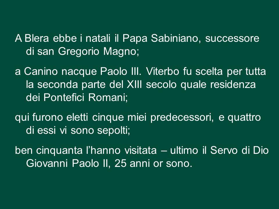 Ho potuto rendermene conto visitando il Palazzo dei Papi e, in particolare, la sala del Conclave .