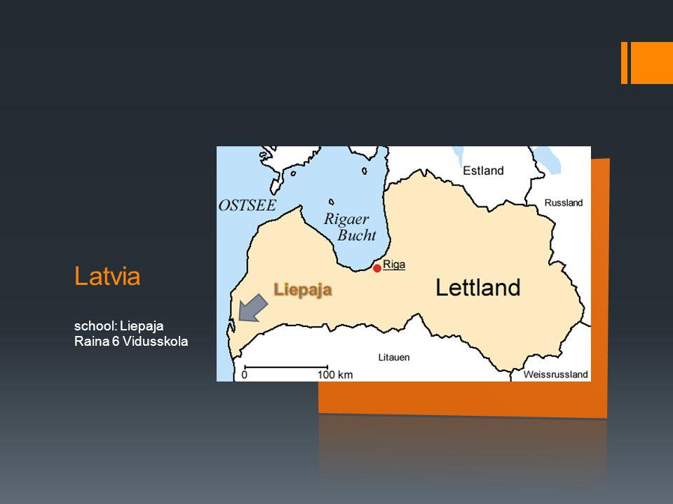 Latvia school: Liepaja Raina 6 Vidusskola