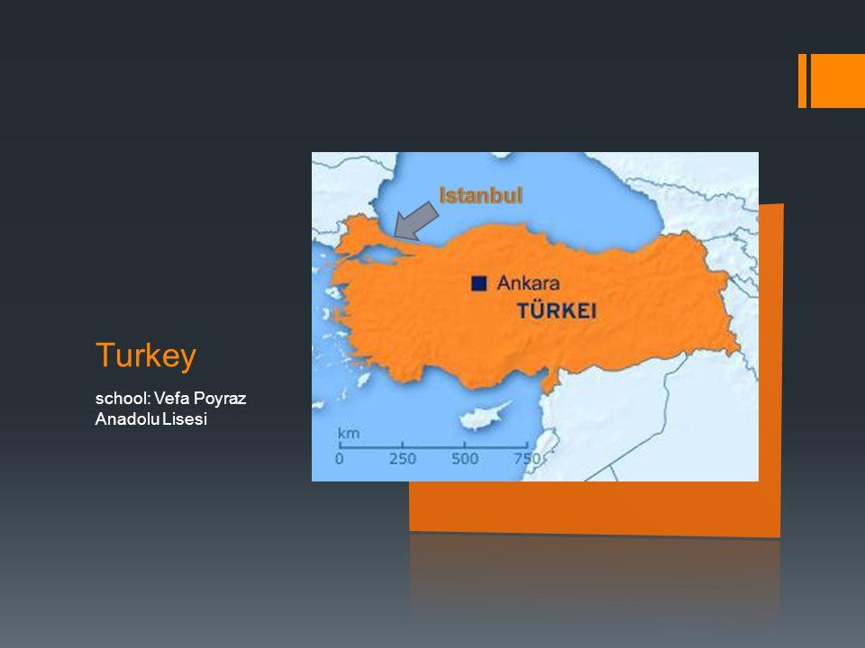 Turkey school: Vefa Poyraz Anadolu Lisesi