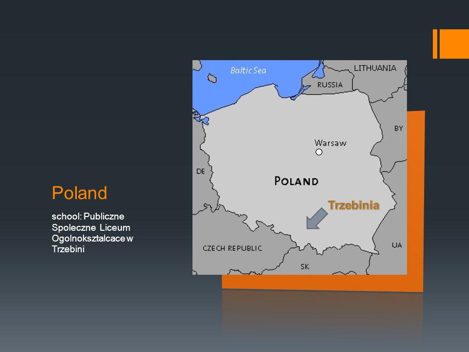 Poland school: Publiczne Spoleczne Liceum Ogolnoksztalcace w Trzebini