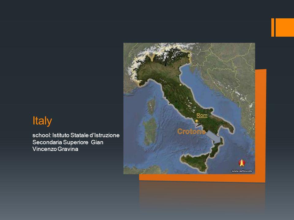 Italy school: Istituto Statale d'Istruzione Secondaria Superiore Gian Vincenzo Gravina