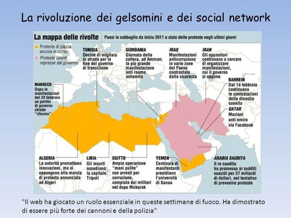 La rivoluzione dei gelsomini e dei social network