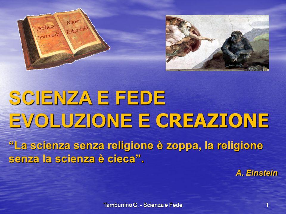 Tamburrino G. - Scienza e Fede22