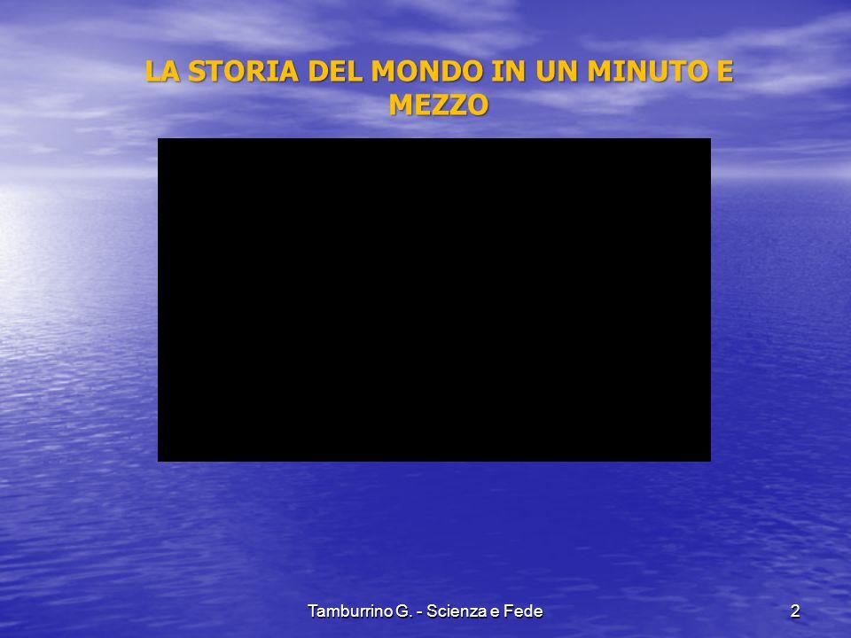 Tamburrino G. - Scienza e Fede23