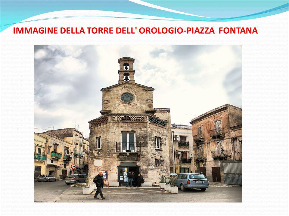 IMMAGINE DELLA TORRE DELL' OROLOGIO-PIAZZA FONTANA