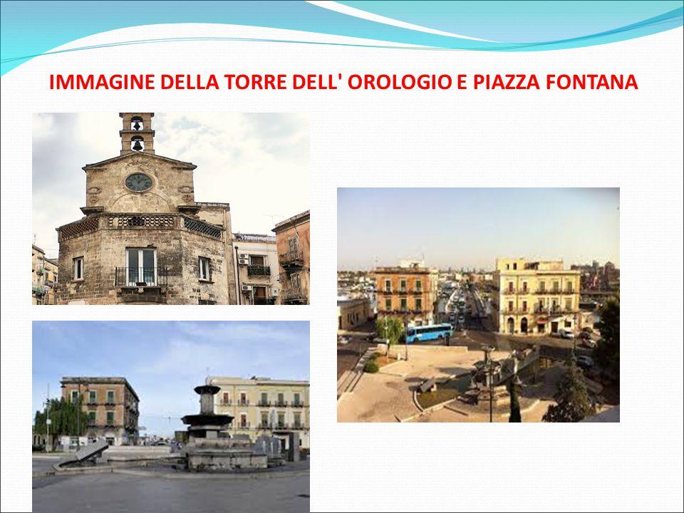 IMMAGINE DELLA TORRE DELL' OROLOGIO E PIAZZA FONTANA