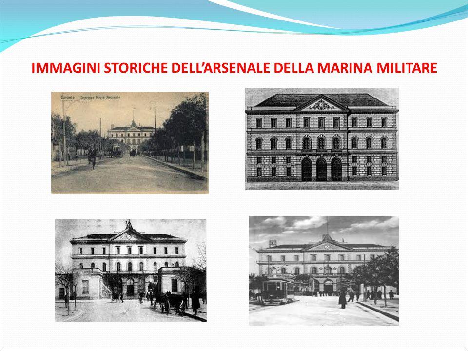 IMMAGINI STORICHE DELL'ARSENALE DELLA MARINA MILITARE