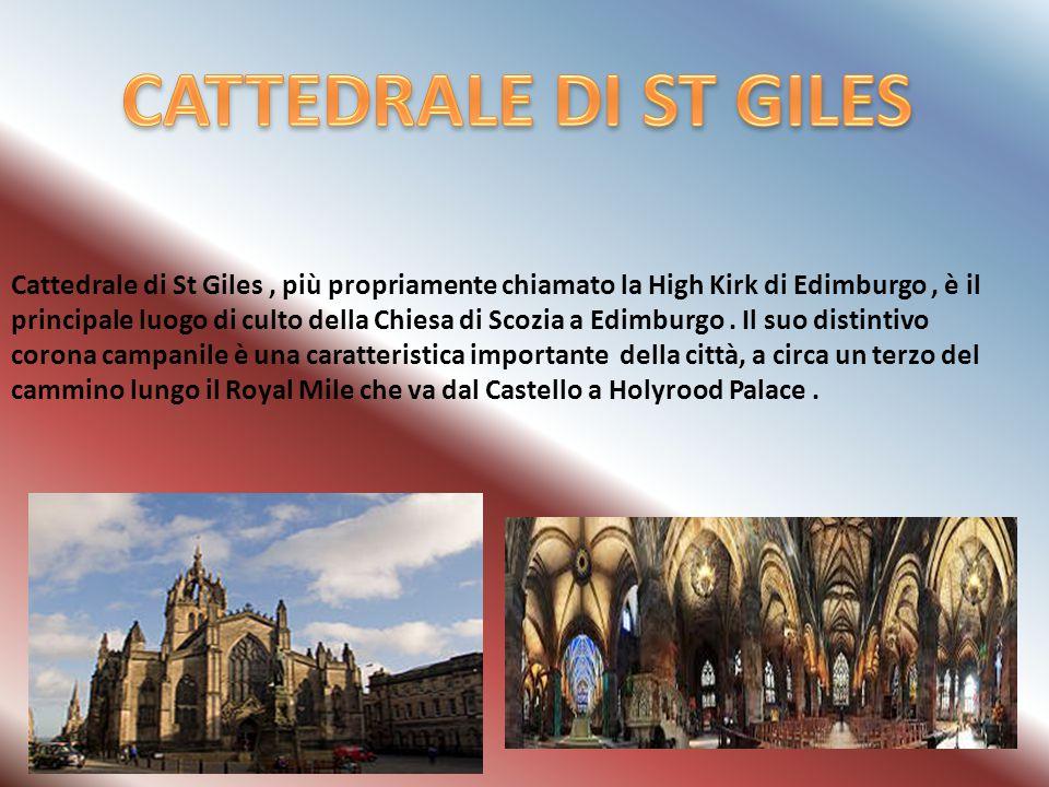 Cattedrale di St Giles, più propriamente chiamato la High Kirk di Edimburgo, è il principale luogo di culto della Chiesa di Scozia a Edimburgo.