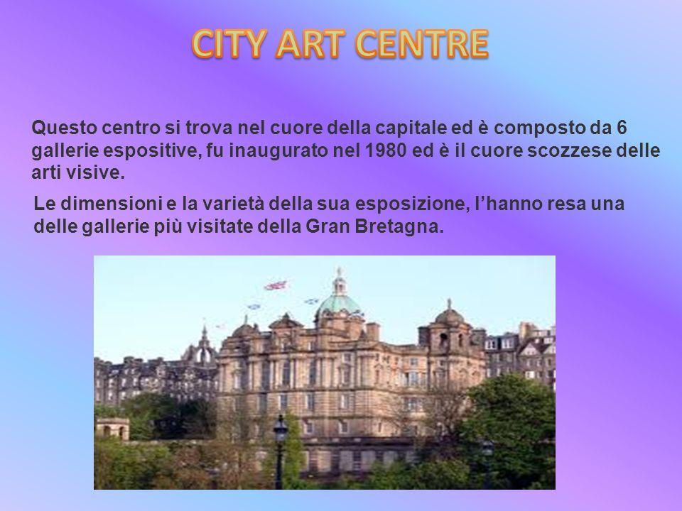 Questo centro si trova nel cuore della capitale ed è composto da 6 gallerie espositive, fu inaugurato nel 1980 ed è il cuore scozzese delle arti visive.