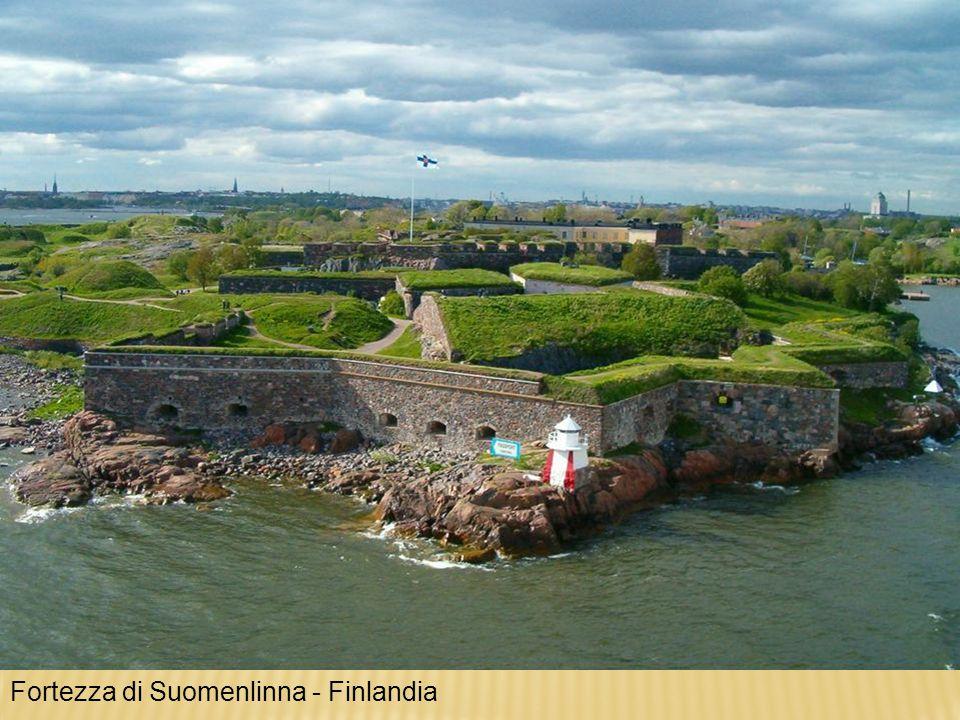 Fortezza di Suomenlinna - Finlandia