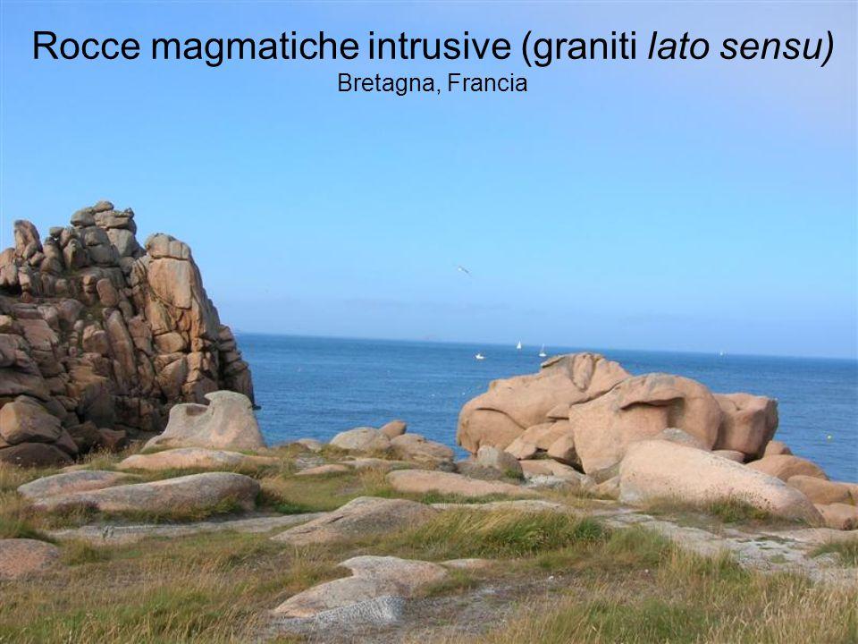 Rocce magmatiche intrusive (graniti lato sensu) Bretagna, Francia