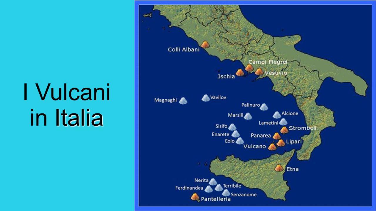 Italia I Vulcani in Italia