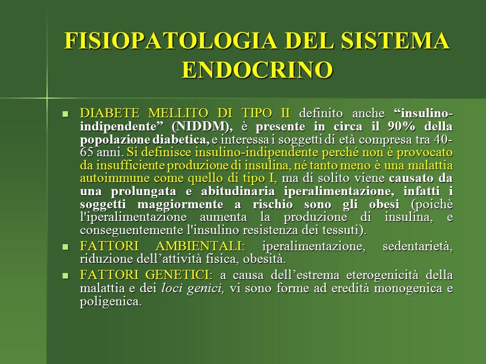 """DIABETE MELLITO DI TIPO II definito anche """"insulino- indipendente"""" (NIDDM), è presente in circa il 90% della popolazione diabetica, e interessa i sogg"""