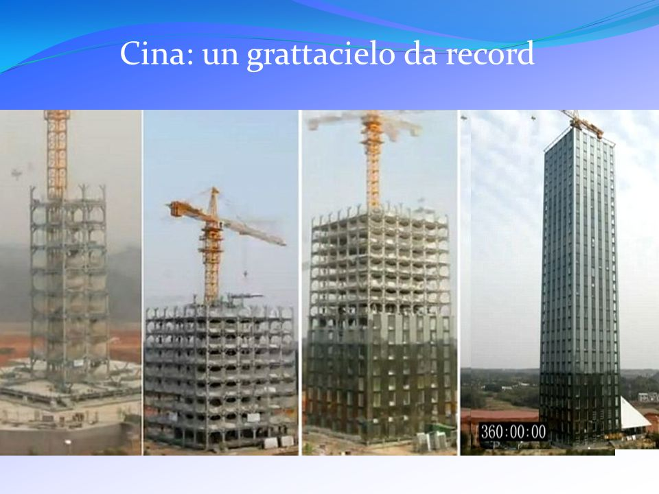 Cina: un grattacielo da record