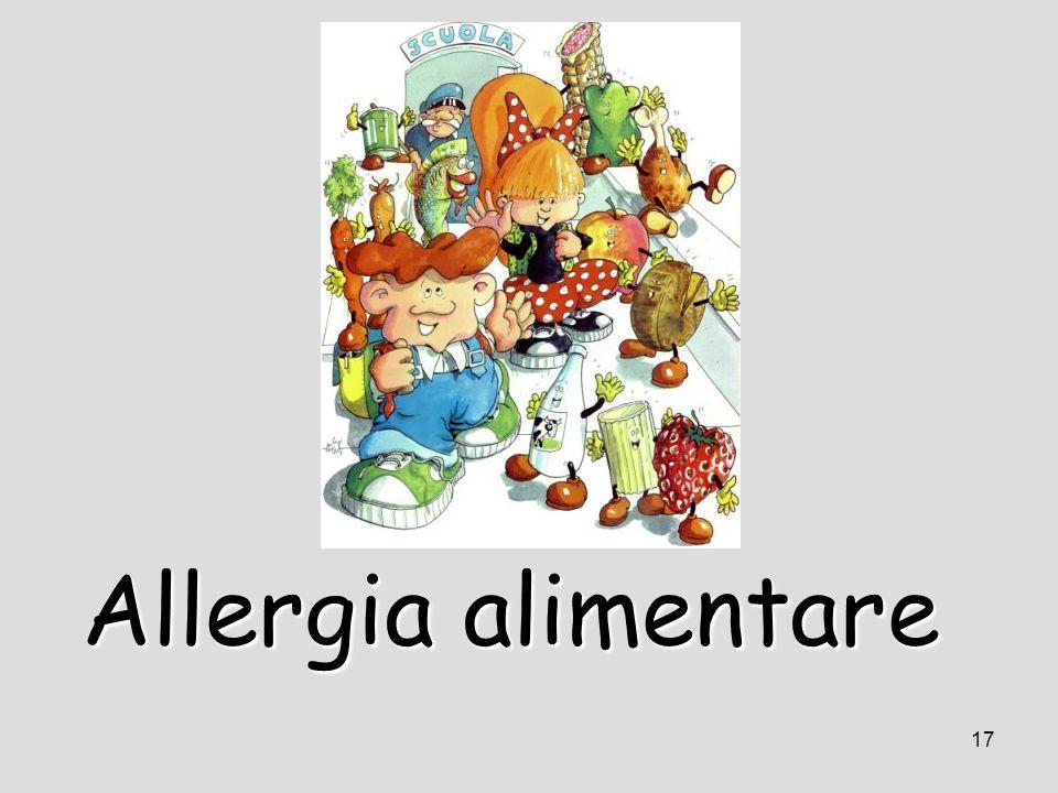 17 Allergia alimentare