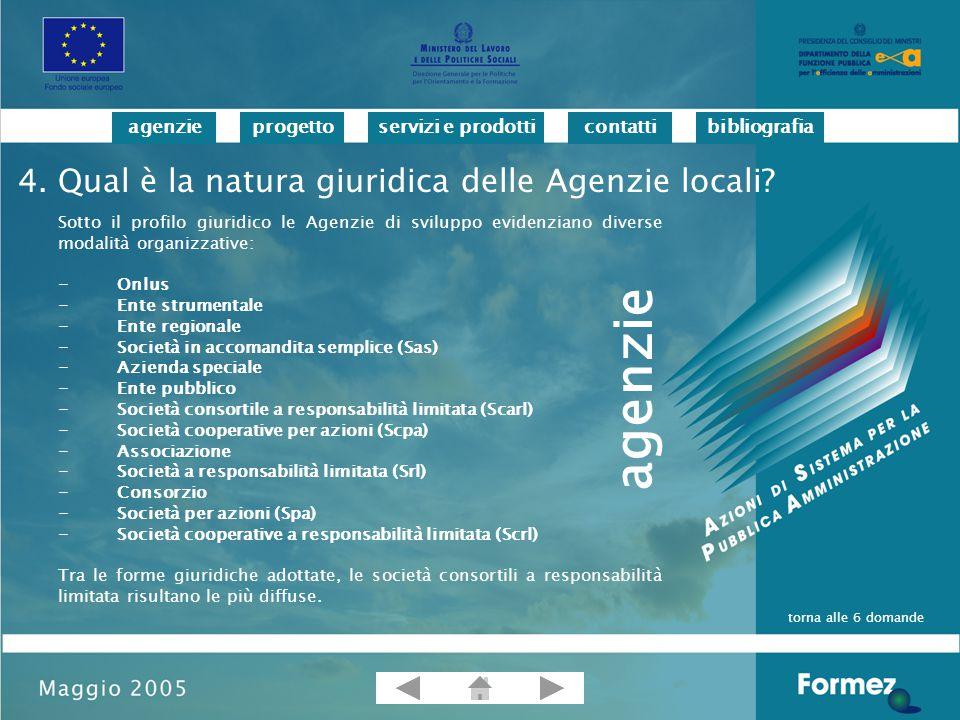 progettoservizi e prodotticontattibibliografiaagenzie Bagnasco A.