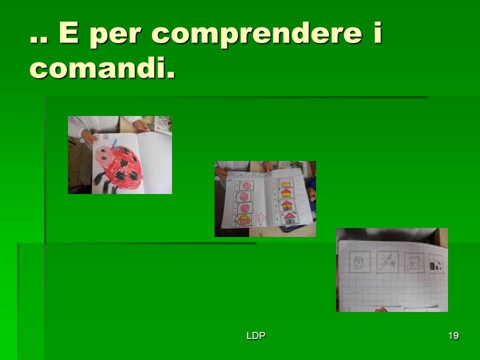 LDP19.. E per comprendere i comandi.