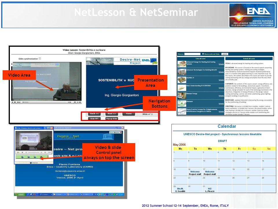 2012 Summer School 12-14 September, ENEA, Rome, ITALY Advance Search Technologies e Hw/Sw systems
