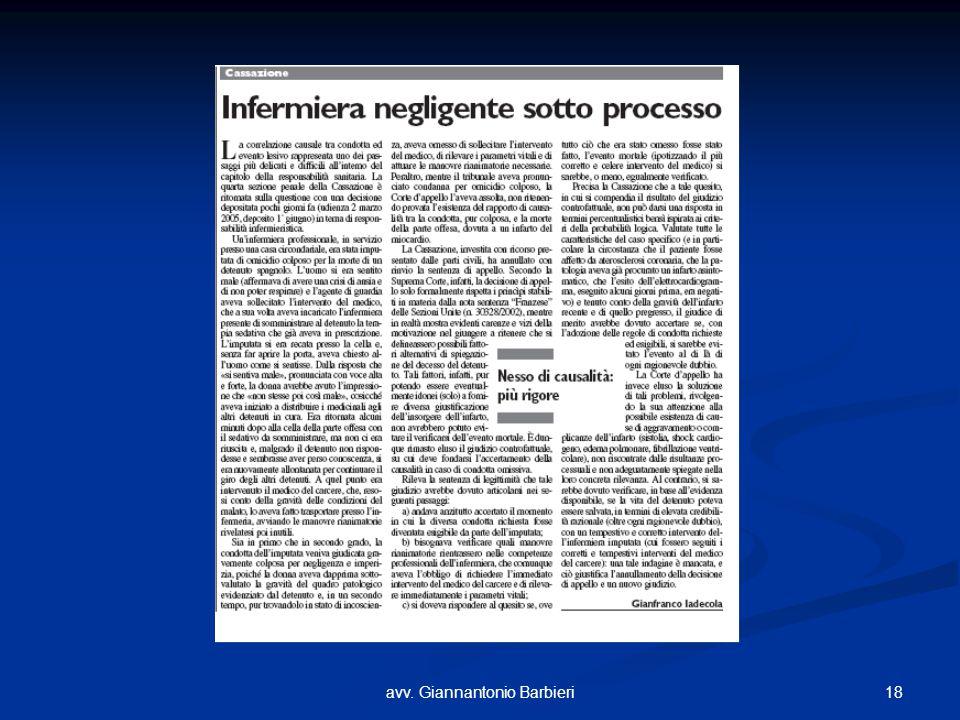 18avv. Giannantonio Barbieri