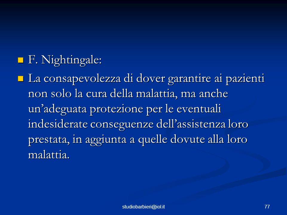 F.Nightingale: F.