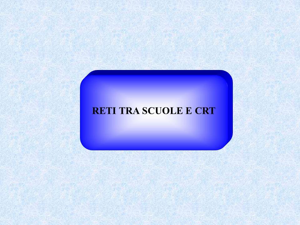 RETI TRA SCUOLE E CRT