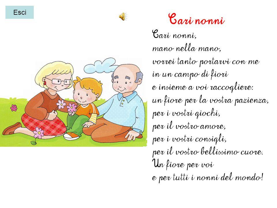 disegno i miei nonni Clicca qui per ascoltare la poesia dedicata ai nonni