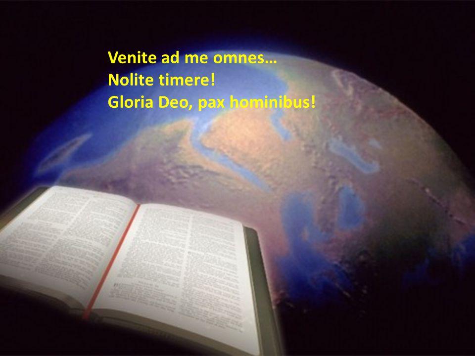 La notte che avvolge due secoli si accende a metà del suo corso; di luce divina risplende il volto del santo tuo servo.