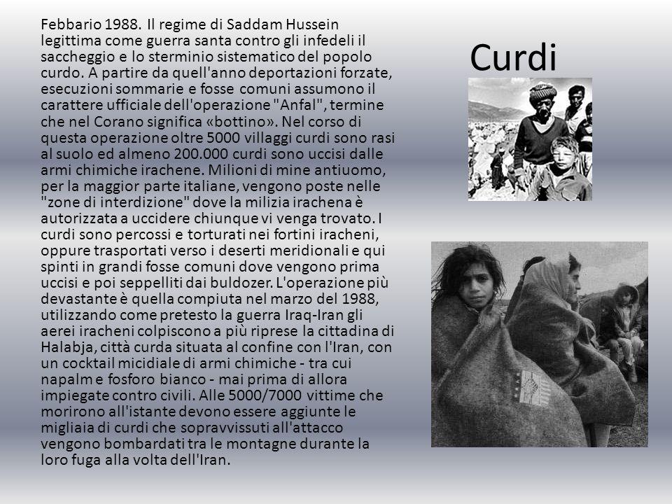 Curdi Febbario 1988.
