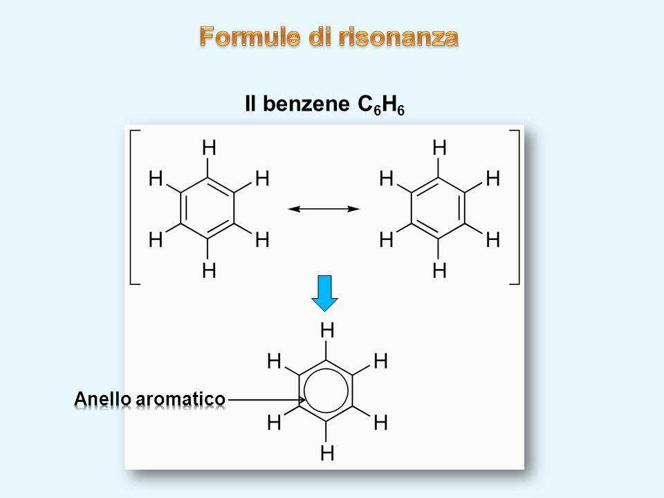 Il benzene C 6 H 6