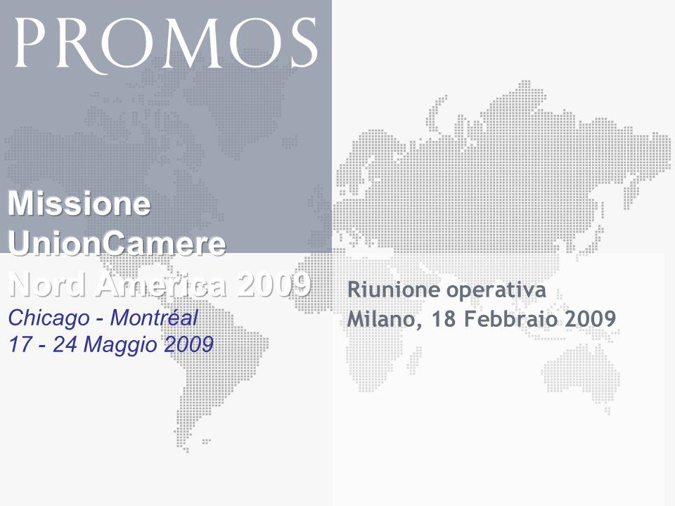 Riunione operativa Milano, 18 Febbraio 2009