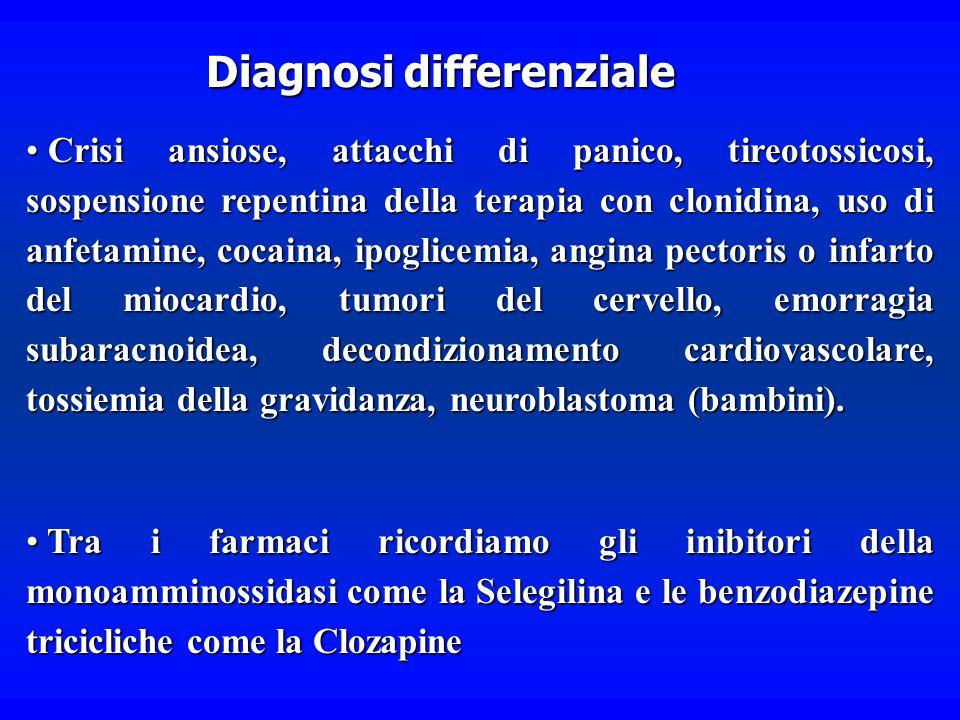 Altri sintomi includono ipotensione ortostatica, iperglicemia, ipermetabolismo, perdita di peso e persino cambiamenti psichici Altri sintomi includono