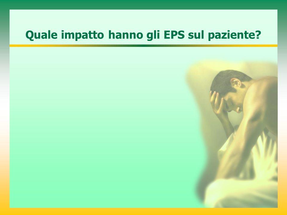 Quale impatto hanno gli EPS sul paziente?