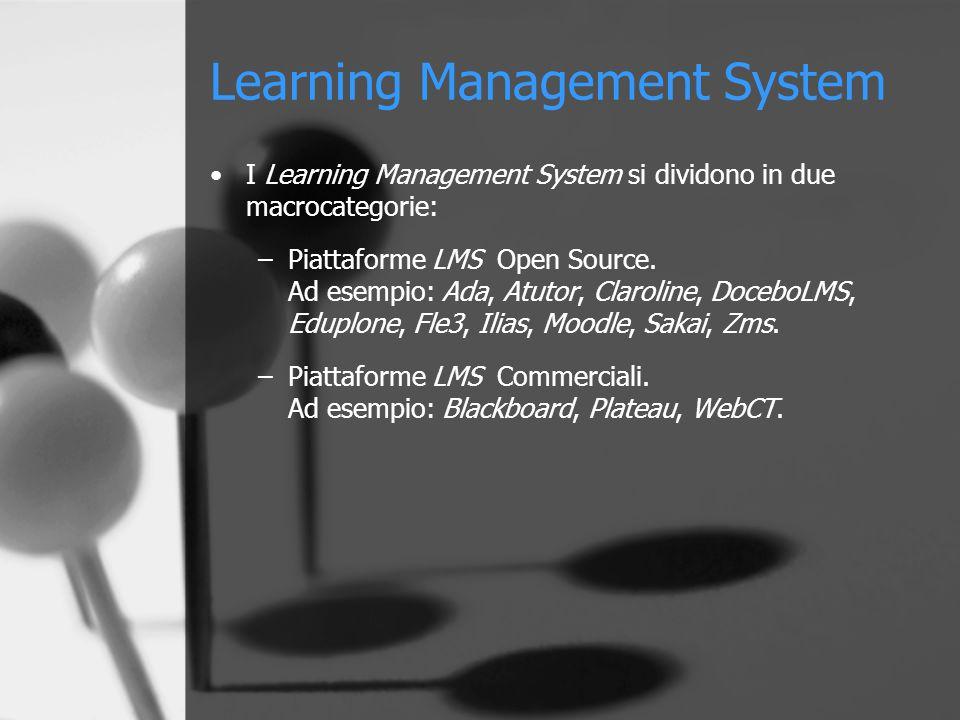 LMS Open Source Le Piattaforme LMS Open Source hanno notevoli vantaggi.