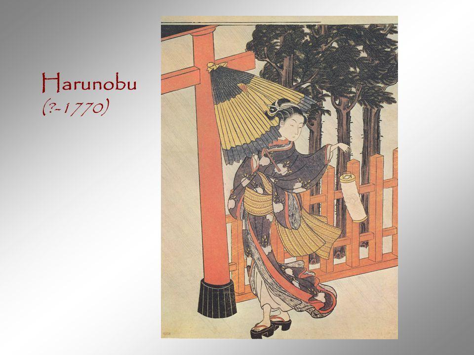 Harunobu (?-1770)