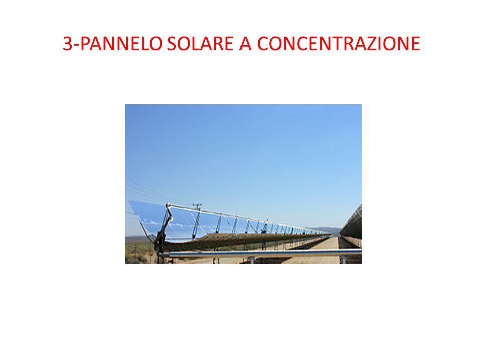 3-PANNELO SOLARE A CONCENTRAZIONE