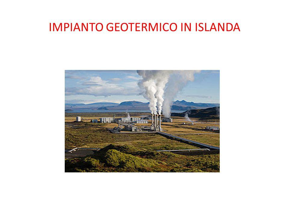 IMPIANTO GEOTERMICO IN ISLANDA