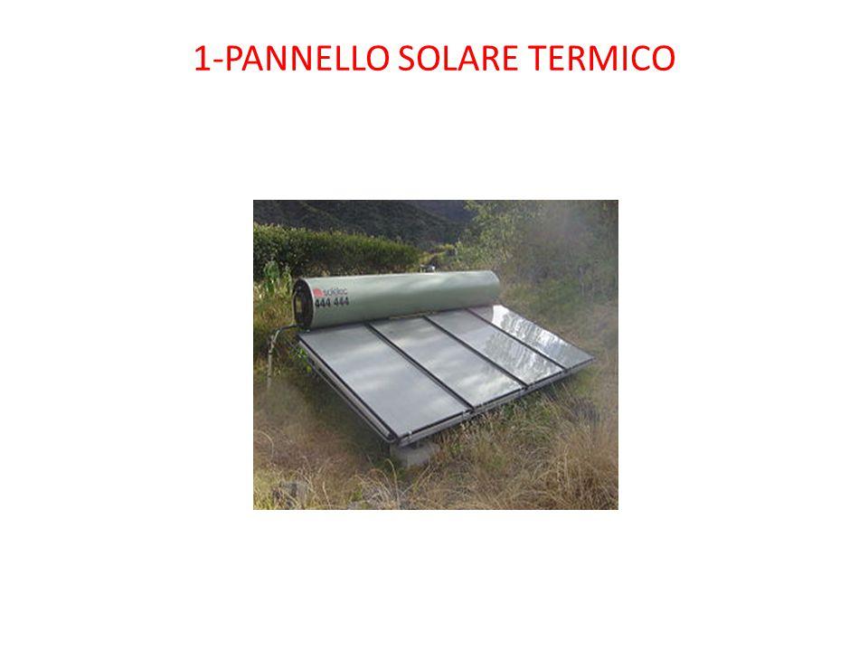 1-PANNELLO SOLARE TERMICO
